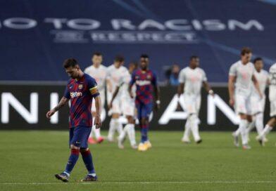La peor derrota en la carrera de Lionel Messi