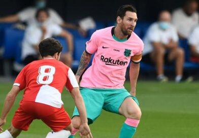 Doblete de Messi en la victoria del Barcelona ante Girona