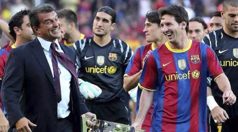 Laporta: «La prioridad será retener a Messi»