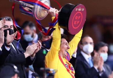 Lionel Messi lidera el ranking de los 10 futbolistas argentinos con más títulos de la historia