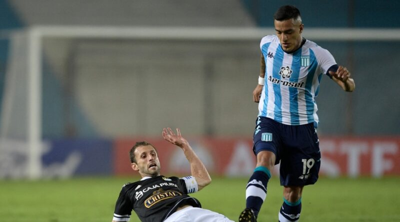 Racing visita a Sporting Cristal con el objetivo de sumar en el grupo