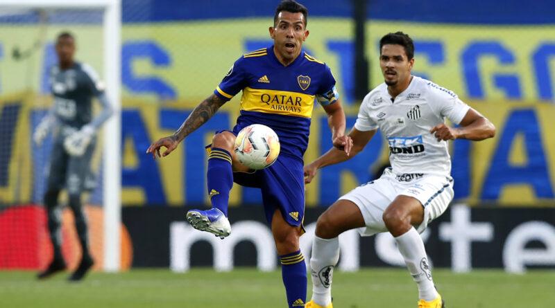 Boca visita al Santos en visperas de un Super Clasico