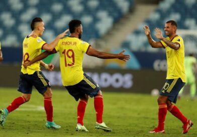 Colombia con gol de Cardona derroto a Ecuador