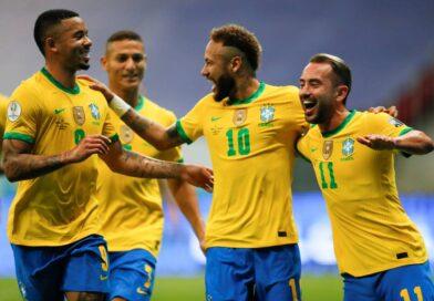 Brasil abrió la Copa América con una goleada a Venezuela